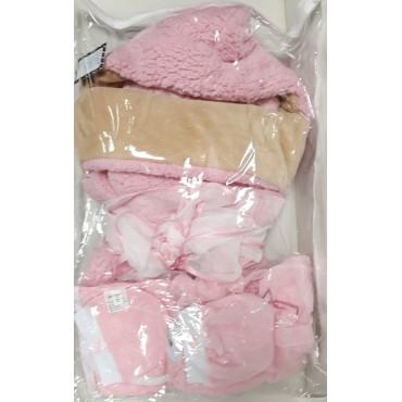 """Комплект утепленный на выписку """"Малыш"""" розовый"""