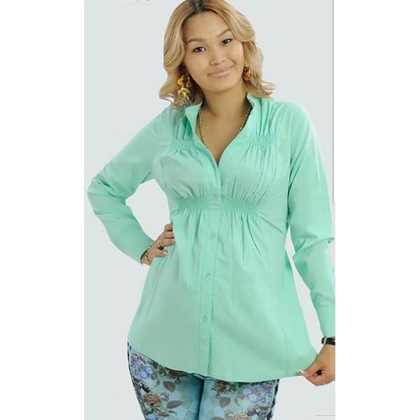 """Блуза """"2242"""" мятная для беременных"""