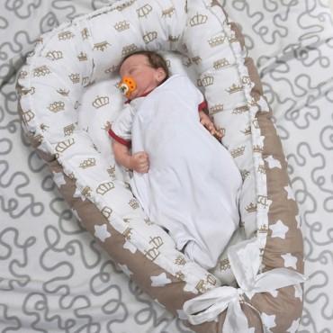 Кокон-гнездышко для малыша, Голубой