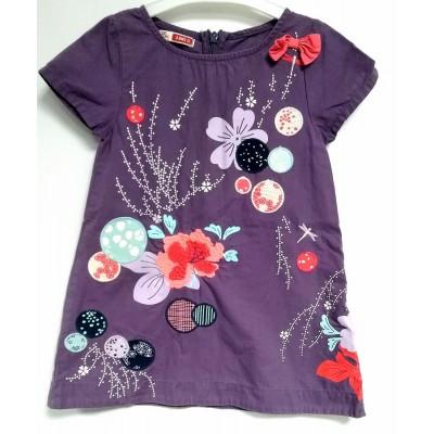 """Платье детское """"Цветы на фиолете"""""""