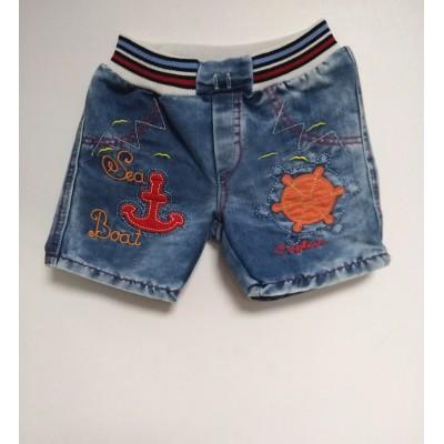 """Шорты детские """"Sea Boat"""" Джинс"""
