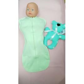 Пеленка-кокон Салатовый для новорожденного