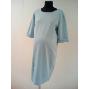 """Платье """"0056"""" Голубое для беременных"""