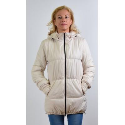 """Куртка демис. """"Глория"""" Молочная 3в1 для беременных"""