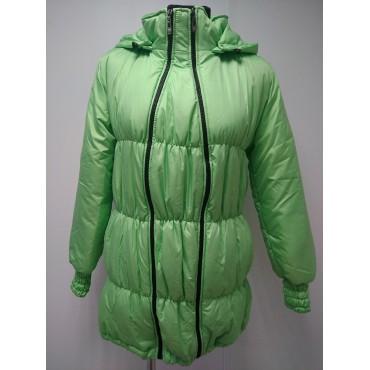 Куртка демис. Глория Св.Зеленая 3в1 для беременных