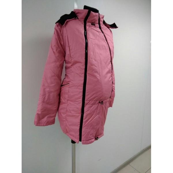 """Куртка демис. """"Хельга"""" 2в1 фуксия"""