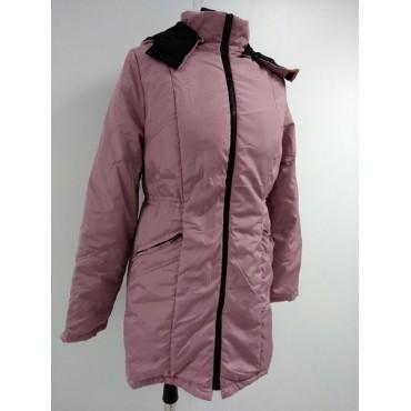 """Куртка демис. """"Хельга"""" 2в1 Пыльная роза для беременных"""