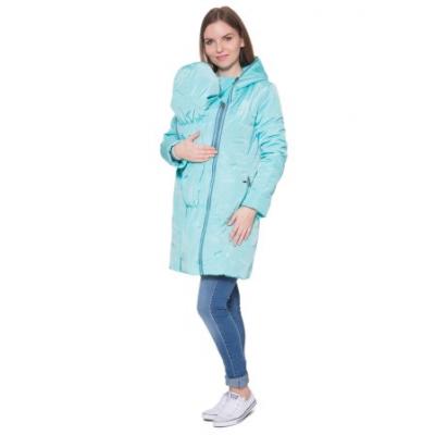 """Демисезонная куртка 3 в 1 """"Пандора"""" Аква для беременных и слингоношения"""
