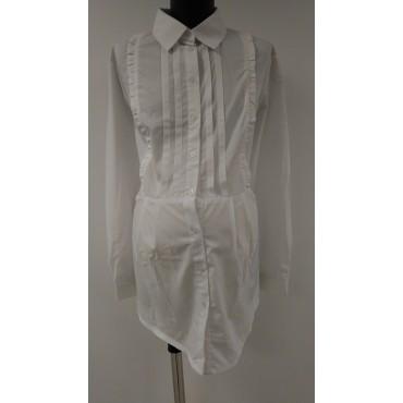 """Блуза """"БА-138"""" Белая для беременных"""