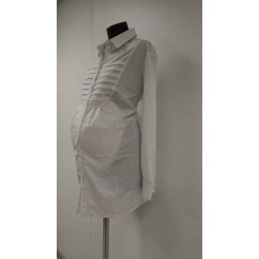 """Блуза """"БА-139"""" Белая для беременных"""