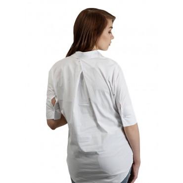 """Блуза """"4013"""" Белая для беременных"""