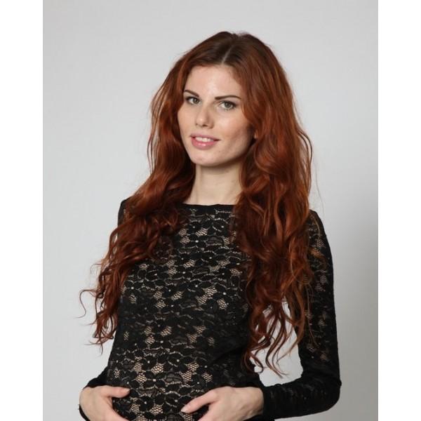 "Блуза  ""433/1"" Черная для беременных"