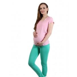 """Брюки """"843-тр"""" Бирюза для беременных"""