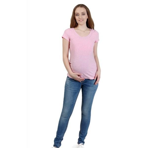 """Джинсы """"2094"""" Св.синие для беременных"""