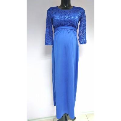 """Платье """"541"""" Синие для беременных"""