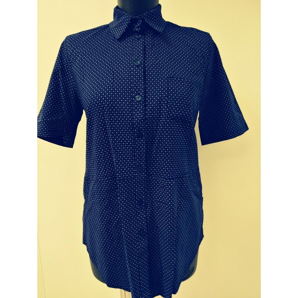 "Блуза ""405"" Синяя, для берем/кормл."