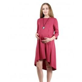 """Платье """"5012/1"""" Слива для беременных и кормящих"""