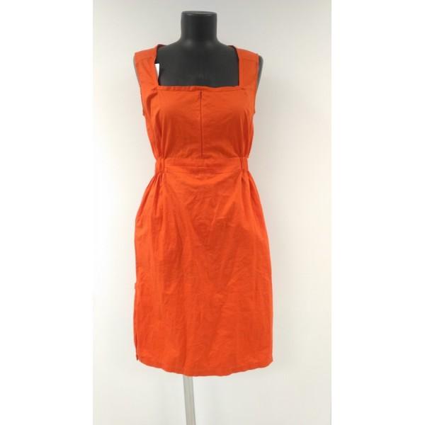 """Платье """"ПЛ-074"""" Оранж для кормящих мам"""
