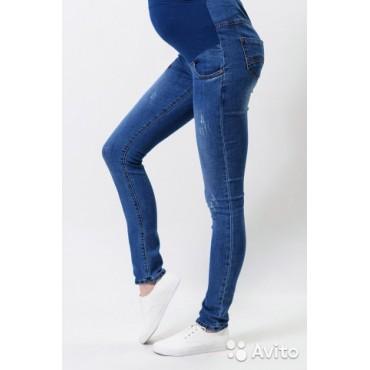 """Джинсы """"9803"""" светло-синие для беременных"""