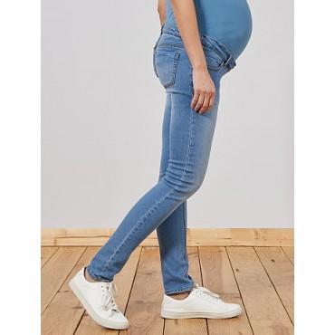 """Джинсы """"KB001"""" светло-голубые для беременных"""