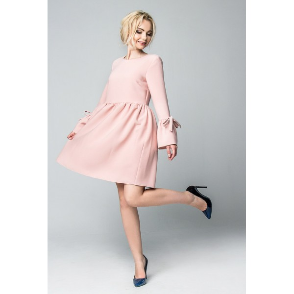 """Платье """"722.140"""" Пудра для беременных"""