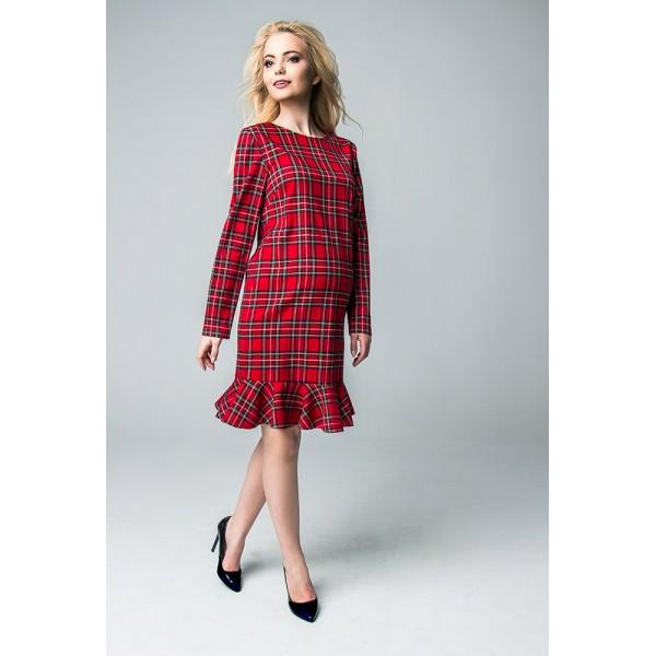 """Платье """"722.141"""" Красное для беременных"""