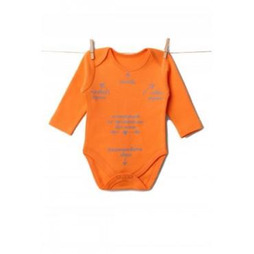 "Боди  ""510.004.013"" Оранжевый"