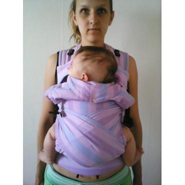 """Физиологичный рюкзак с 3х мес """"Комфорт"""" Лаванда шарфовый"""