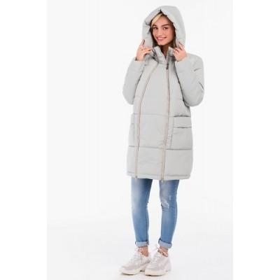 Куртка 2в1 Серая для беременных