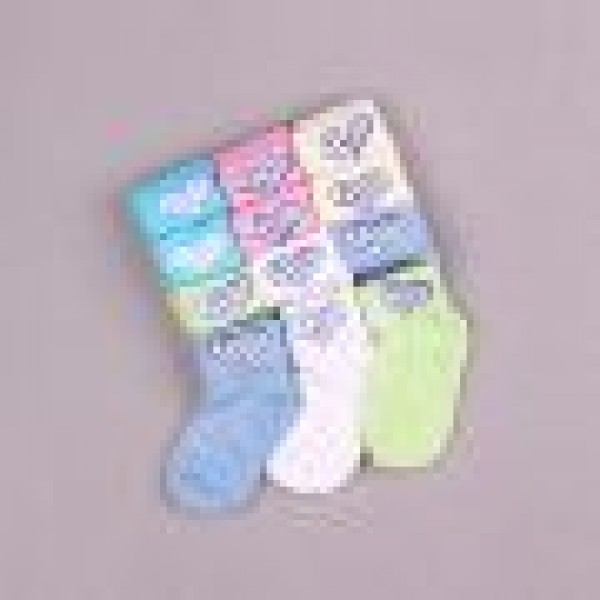 Носочки для новорожденных Интерлок