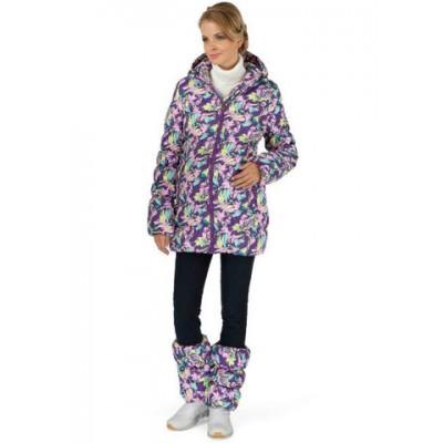 """Куртка зимн. 2в1 """"Мальта"""" орхидея для беременных"""