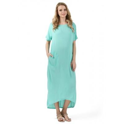 """Платье """"Индиана"""" для беременных, ментол"""