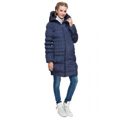 """Куртка 3в1 """"Исландия"""" т.синяя для беременных и слингоношения"""