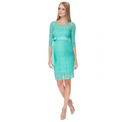 Платье Марджори ментоловое для беременных