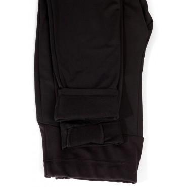 Леггинсы Вербена утепленные черные для беременных