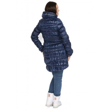 "Демисезонная куртка ""Синти"" Темно-синяя 2 в 1"