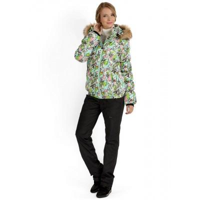 """Куртка 2в1 """"Монако"""" Орхидеи для беременных"""