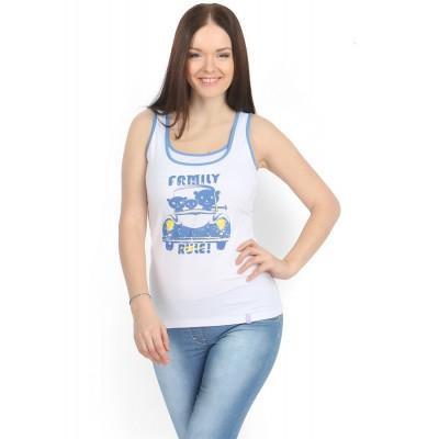 Майка МХ01 белая Family для беременных и кормящих