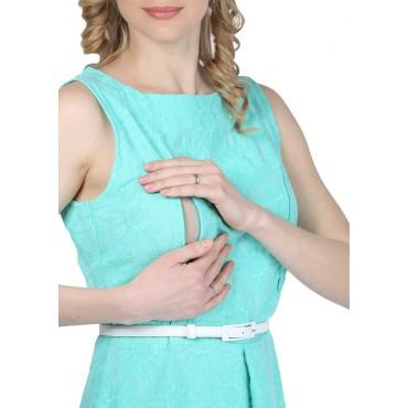 """Платье """"Вивиан"""" Мятное для кормящих"""