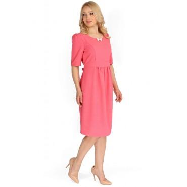 """Платье """"Ассанта"""" коралл для беременных и кормящих мам"""