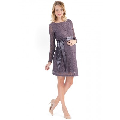 """Платье """"Марианна"""" коричневое  для берем."""