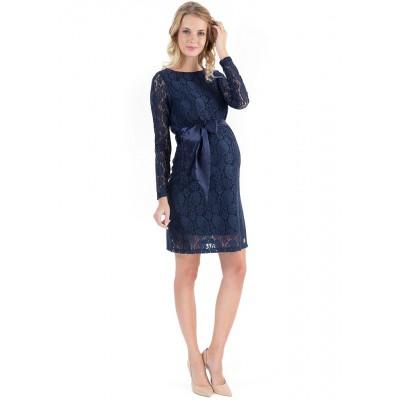 """Платье """"Марианна"""" т.синее  для берем."""