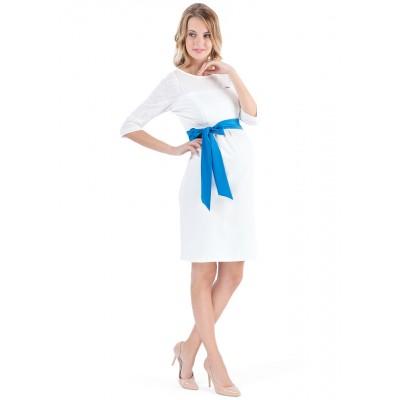 """Платье """"Рикарда"""" экрю для беременных и кормящих"""