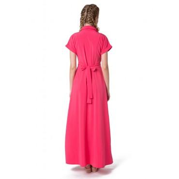 """Платье """"Аламанни"""" коралл для беременных и кормящих"""