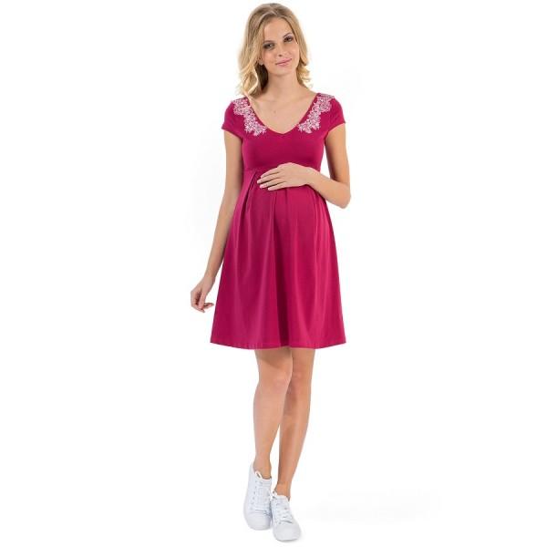 """Платье """"Вербена"""" для беременных, ягодное"""