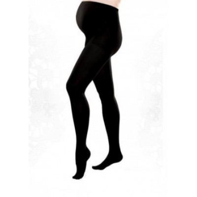 Колготки 360Den с искусств.шерстью Черные для беременных
