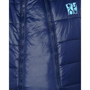 Куртка 2в1 Laura Bruno Сине-голубая двусторонняя для беременных
