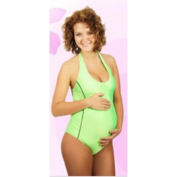 Купальник для беременных Салатовый
