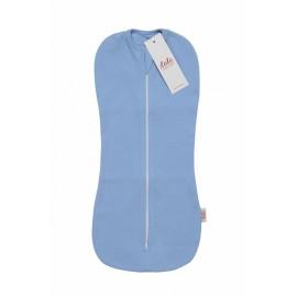 Пеленка-кокон для новорожденного Голубой