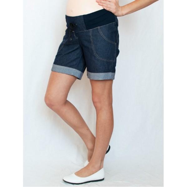 """Шорты """"Ш-5"""" джинсовые для беременных"""
